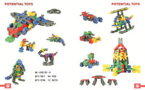 Multi-Shape Assembly Blocks