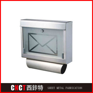 Artistic Modern Style Glass Mailbox pictures & photos