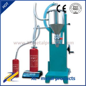 High Quality Stainless Steel Fire Extinguisher Powder Filling Machine pictures & photos
