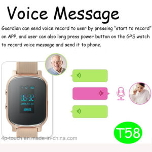Adult GPS Tracking Device with Extended Leather Strap (T58) pictures & photos