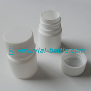 10g Plastic Capsule Bottle with Aluminum Foil Gasket Seal pictures & photos
