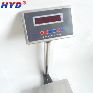 Haiyida Rechargeable Electronic Platform Balance with LCD display pictures & photos