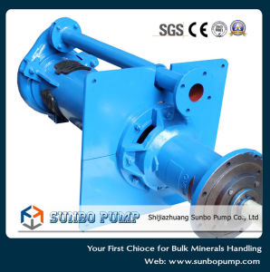 Vertical Spindle Slurry Pump, Dewatering Sump Pump pictures & photos