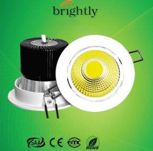 LED Downlight 12W 240V COB CE RoHS SAA EMC
