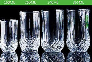 50-365ml Classical Whisky Cup Transparent Lead Free Crystal Whisky Glass Cup pictures & photos