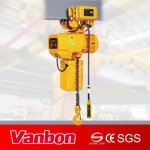 1.5ton Electric Chain Hoist with Electric Trolley (WBH-01501SE) pictures & photos