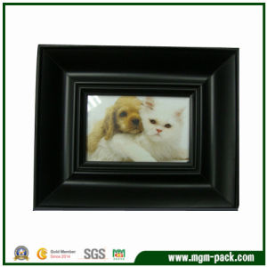 High Quality Black Rectangle Wooden Picture Frame pictures & photos