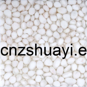 White Color Pebble Stone for Kithen Top From China Supplier pictures & photos