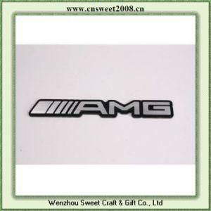 Custom Adhesive Plastic Badge with Chrome (S1M054) pictures & photos