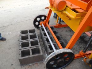 Qmy4-45 Moveable Hollow Block Making Machine Small Manufacturing Machines pictures & photos