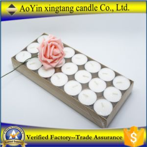 Wholesale 14G Standard Tealight Candles with Glass Holder pictures & photos