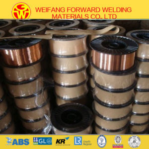 Welding Consumables 1.2mm 15kg/ Spool Er70s-6 Sg2 Copper Solid Solder Welding Wire From Golden Bridge OEM Supplier pictures & photos