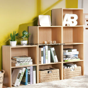 Knock-Down Structure Home Office Use Wooden Storage Book Storage Cabinet pictures & photos