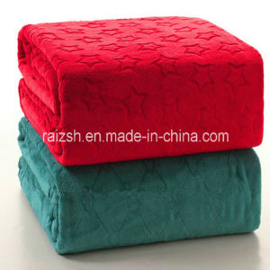 Air Conditioning Adults TV Thin Embossed Blanket