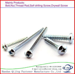 DIN7981, DIN7982, DIN7983 Pan Head /Countersunk Flat Head/ Raised Countersunk Oval Head Tapping Screws with Cross Recessed pictures & photos