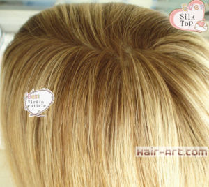 100% Human Virgin Cuticle Hair Silk Top Kosher Jewish Wigs pictures & photos