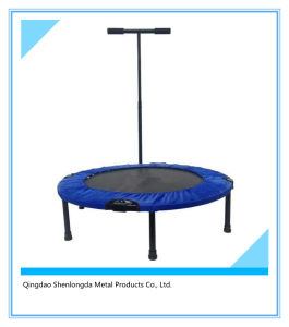 Trampoline with Adjustable Safety Bar pictures & photos