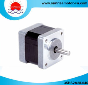 35hs NEMA14 0.4A 9n. Cm 2-Phase Stepper Motor pictures & photos