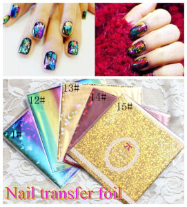 ND-47h Newest Many Designs Fashion Beautiful Nail Art Transfer Foil