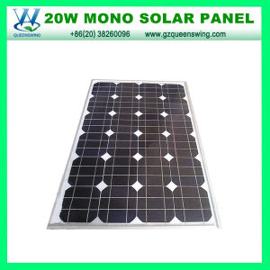 Solar Cell 20W Monocrystalline Solar Panel (QW-M20W) pictures & photos