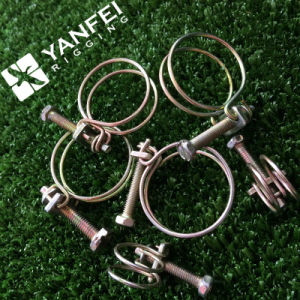 Galvanized Wire Hose Clamp, Double Wire Hose Clamp pictures & photos