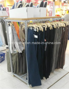 Supermarket or Retail Store Metal Gondola Shelf for Shoes, Clothes, and Trousers for Nike pictures & photos