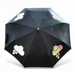 Color Changing Umbrella with Metal Frame Rubber Handle (BR-FU-140) pictures & photos
