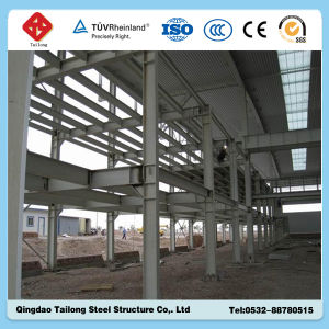 Big and Easy to Build Steel Warehouse Building Made in Qingdao Tailong pictures & photos