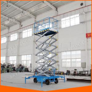 Electric Battery Diesel Skylift Scissor Platform Lift pictures & photos
