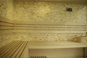 2018 Newest Design Luxury Traditional Culture Stone Dry Sauna Room pictures & photos