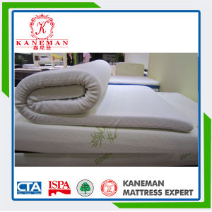 3 Inch Rolled Packing Single Thin Memory Foam Mattress Topper pictures & photos
