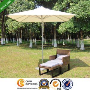 6 Feet Aluminium Patio Umbrella for Outdoor Garden (PU-2020A) pictures & photos