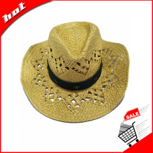 Vent Paper Straw Cowboy Hat pictures & photos