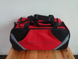 Custom Logo Embroidery Sports Gift Gym Bag pictures & photos