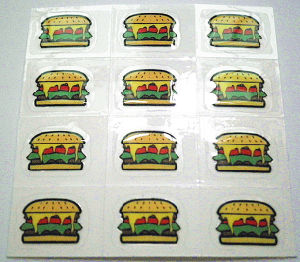 Special Printing Car Decal Stickers pictures & photos