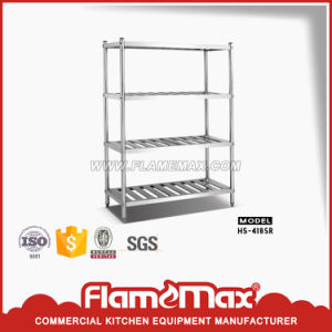 4-Tier Storage Shelf (HS-418B) pictures & photos