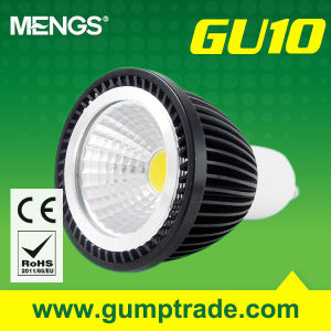 Mengs® GU10 5W LED Spotlight with CE RoHS COB 2 Years′ Warranty (110160012)