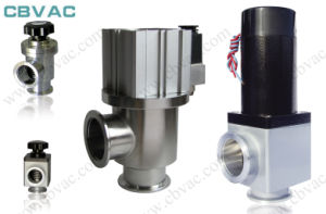 Vacuum Inline Valve/CF Rotatable Flanges with Copper Seal Bonnet / Vacuum Angle Valve pictures & photos