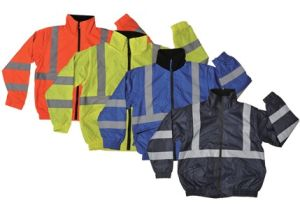 High Visibility Reflective Oxford Safety Padded Jacket pictures & photos