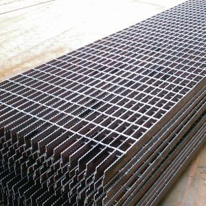 Black Steel Grating, Untreated Steel Grating, Metal Steel Grating pictures & photos