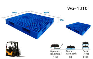 Warehouse Pallet/Stackable Plastic Pallet /Stacking Pallet pictures & photos
