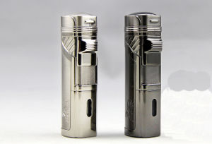 Lubinski Four Flame Straight Windproof Gas Punch Cigar Lighters (ES-LI-001) pictures & photos