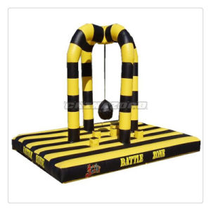 Factory Directly Supply Inflatable Wrecking Ball Games Battle Zone