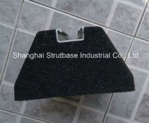 SBR Recycled Rubber Base C/W 41X21 Strut Channel pictures & photos