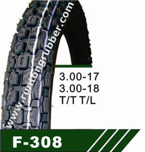 China Professional Supplier Motorcycle Tire (3.00-17 3.00-18) pictures & photos