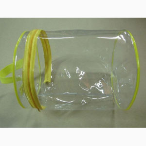 Household Textile Button Zipper Transparent PVC Bag, for Packaging pictures & photos