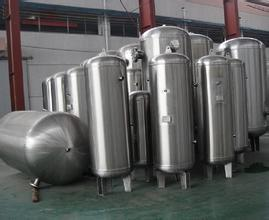 Stainless Steel Compressor Air Receiver Tank pictures & photos