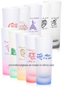 2oz Frosted Cordial Shooters, Sublimation Shooter Glass