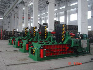 Hydraulic Scrap Metal Baling Press Manual Operation pictures & photos