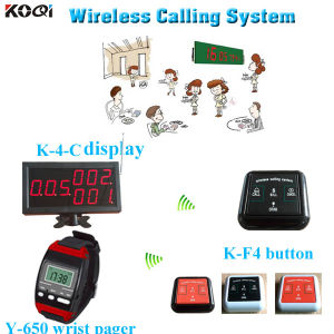 Smart Kitchen Equipment K-4-C+Y-650+F4 Pager Calling System pictures & photos